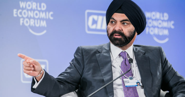 Mastercard CEO Ajay Singh Banga In Good Company Since High School | The  Financial Technology Report.